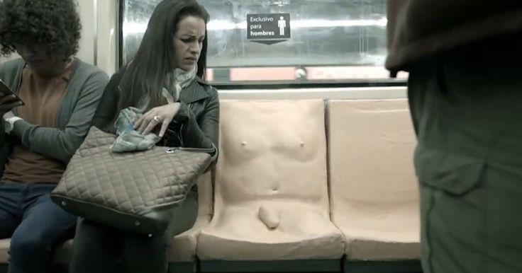 Un pénis moulé sur un siège de métro (pour la bonne cause). Le métro mexicain lance une campagne contre les agressions sexuelles. À Mexico, de nombreuses femmes se disent victimes de violences sexuelles sur leur trajet quotidien. Neuf femmes sur dix selon une campagne du métro mexicain. Pour lutter contre ça, aux heures de pointe, le métro propose déjà un wagon réservé aux femmes. Mais cela ne suffisait pas.