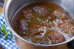 Kjøttkaker i brun saus - Elin Larsen