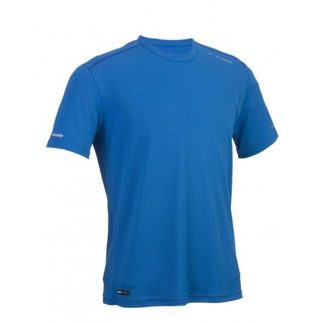 The K-Way Kamit is a performance-oriented base layer with moisture wicking properties. The fabric sports a unique Cool Touch sensation, and actively inhibits heat build-up. A non-absorbent microfibre wicks moisture away from the athlete's skin, keeping him cool and comfortable. Weighing a paltry 135g, and boasting reflective logos for safe after-dark training, the Kamit is a must-have performance tee. Excellent for trail running, or as a base layer for skiing or hiking.