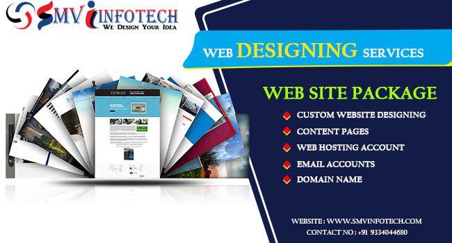 Web Designing Services In Patna Smv Infotech Web Design Website Design Custom Website
