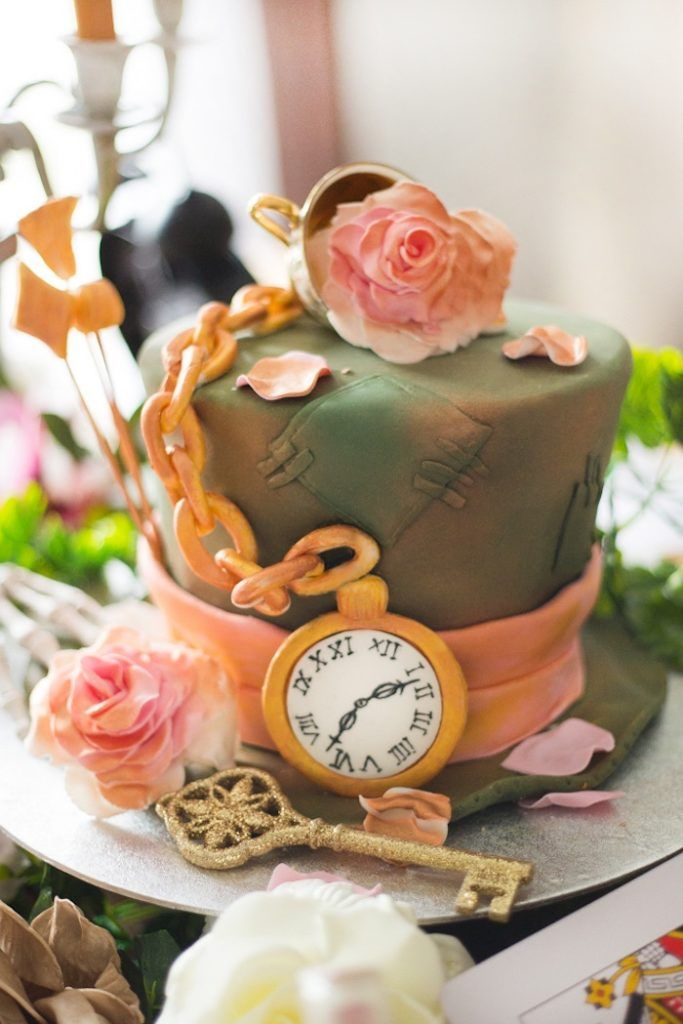 Alice In Wonderland Tea Party With Images Tea Party Cake Mad