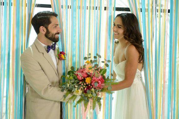 Telón de fondo de la cinta de la boda Telón de fondo Telón by MoreThanaMoment | Etsy