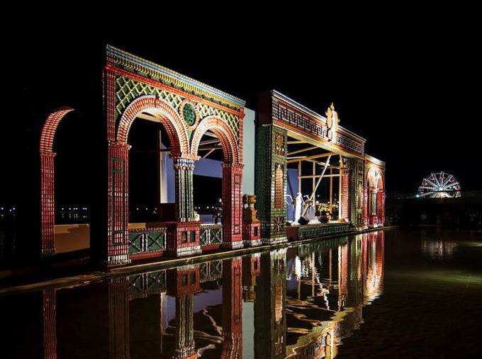 Greece's Preveza Gets Seaside Opera House Made of Empty Cans