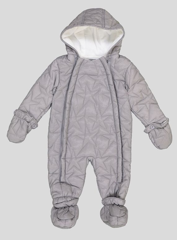b22dda740 Grey Star Quilted Snowsuit (0-24 months) from Tu at Sainsbury's ...