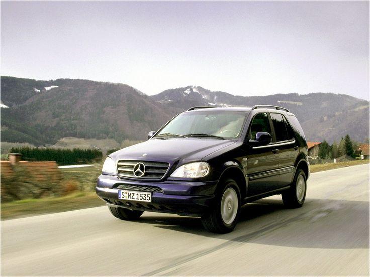 2001 Mercedes-Benz ML-Class (W163)