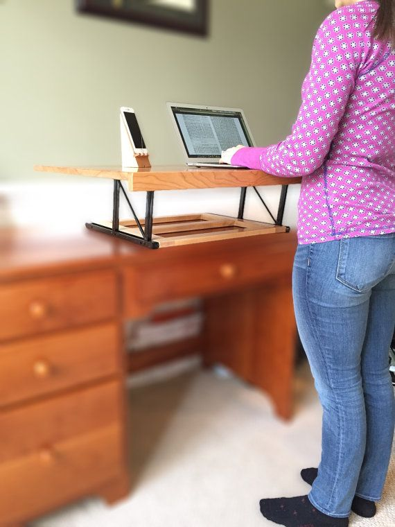 convertible standing desk by