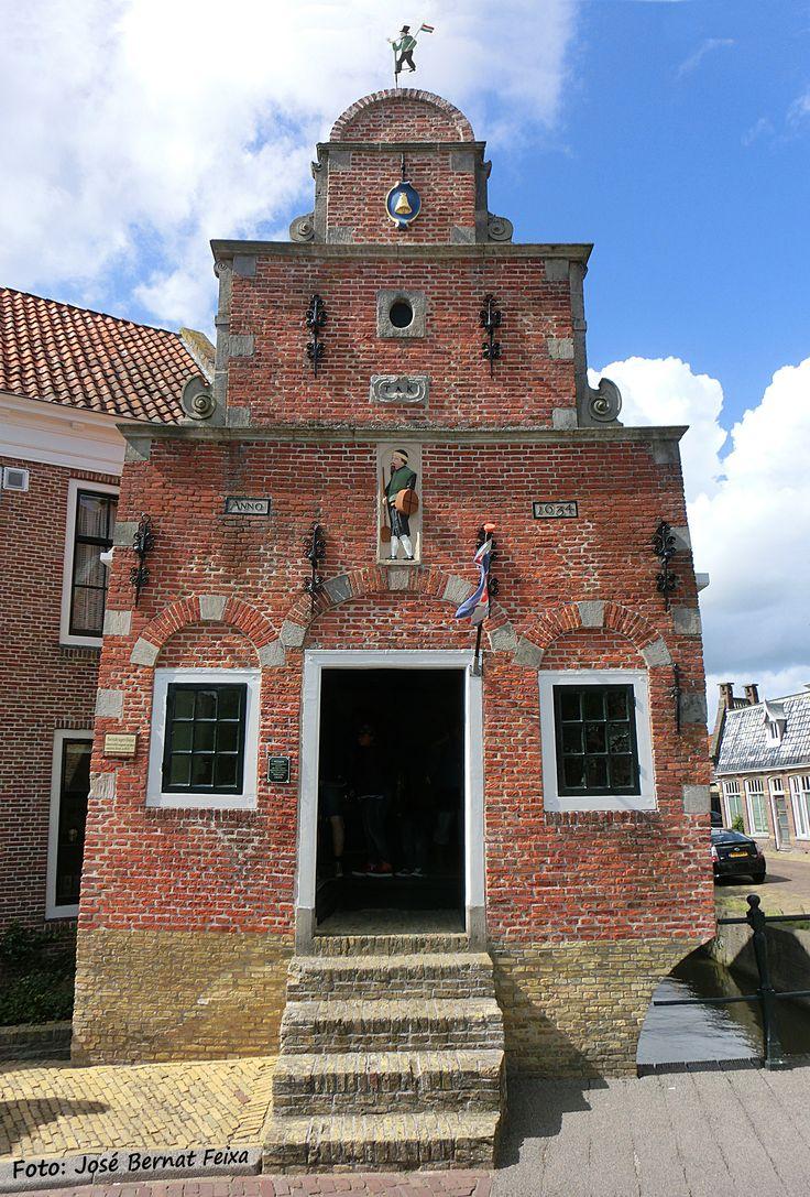 Franeker - Korendragershuisje of Zakkendragershuisje. Friesland / Frisia, Netherlands