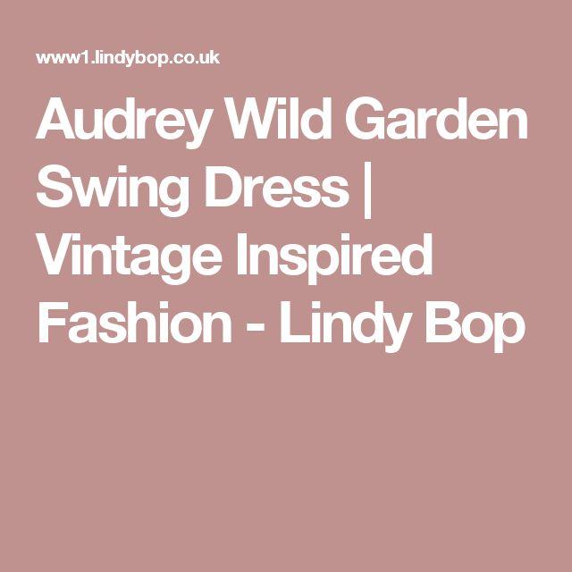 Audrey Wild Garden Swing Dress | Vintage Inspired Fashion - Lindy Bop