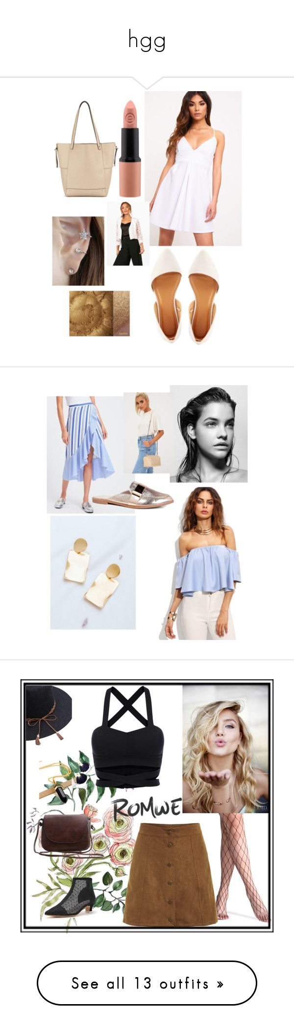 """hgg"" by milausah ❤ liked on Polyvore featuring Miss Selfridge, Charlotte Russe, Boohoo, Forever 21, gift, sale, onlineshoping, Celestine, Maybelline and NYX"