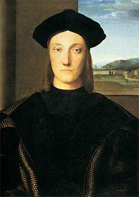 Rafael: Retrato de Guidobaldo da Montefeltro.