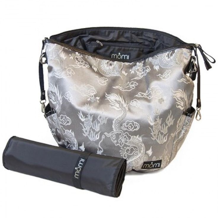 Designer Baby Bag - After Dark - Bags - Baby Belle