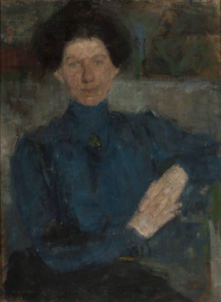 Portret Marii Koźniewskiej-Kalinowskiej - Olga Boznańska
