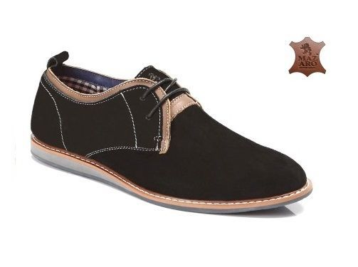 MENS SMART OFFICE SUEDE LEATHER SHOES FORMAL CASUAL PARTY  SHOES SIZE 6-11