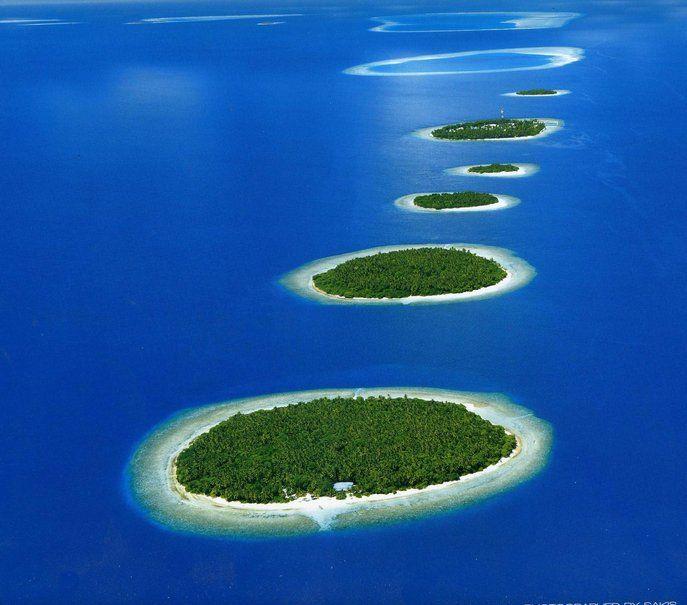 Madive Island Atolls wallpaper