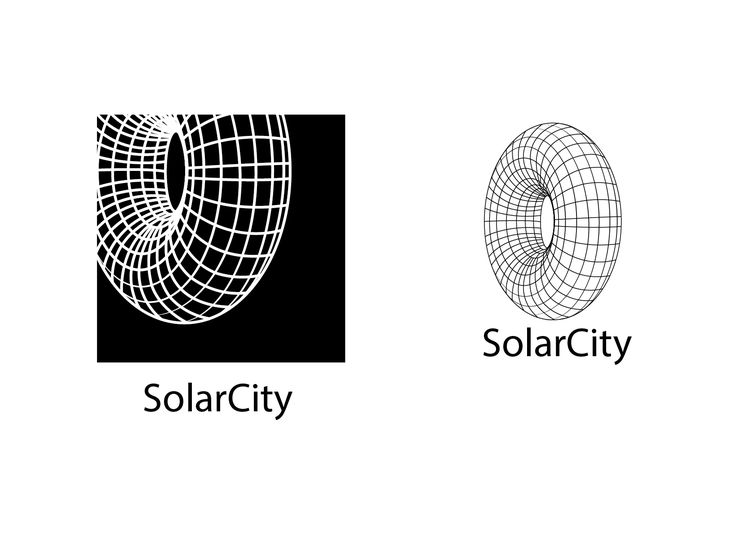 2016 Logo concepts for Solar City solar power company. The logo is meant to have the look and feel of sustainable energy.