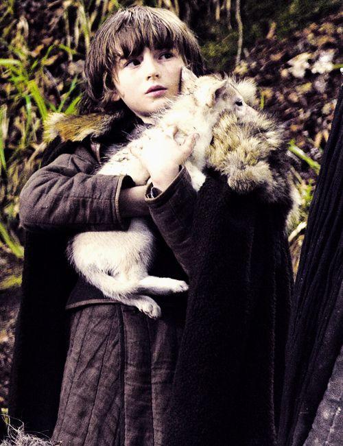 Bran Stark and Summer