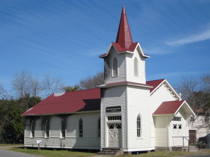 Church Prop Used For Filming Of The Last Song On Tybee Island GA