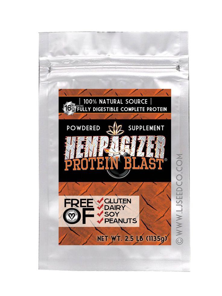 HEMPAGIZER PROTEIN BLAST 2.5-lb
