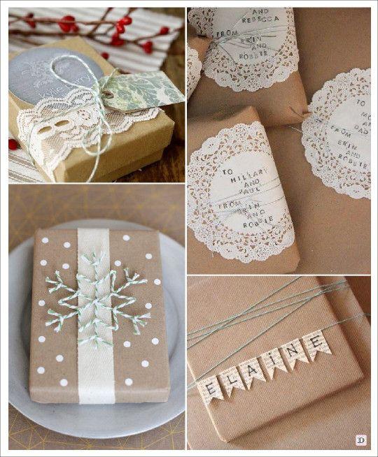 emballage_cadeau_noel_napperon dentelle idees