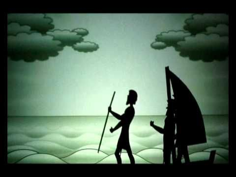 Jonah and the Whale (shadow puppet animation)  - annoying story, but good puppetry