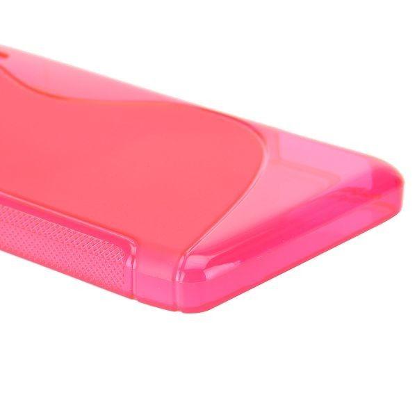 S-Line Transparent (Hot Rosa) Motorola DROID RAZR MAXX HD Deksel
