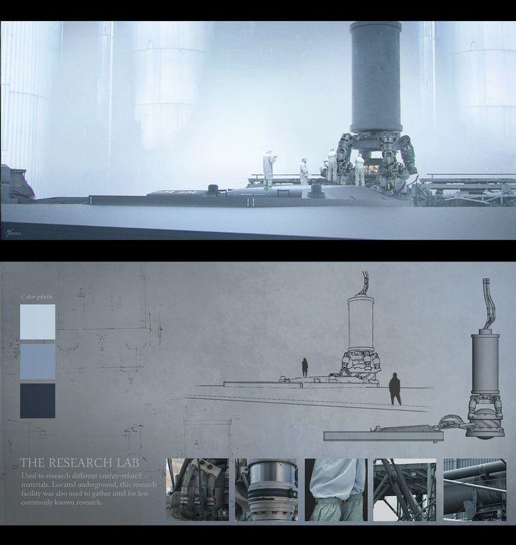 ArtStation - The Research Lab, Markus Luotero