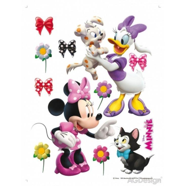Minnie egér és Daisy kacsa matrica