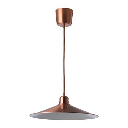 IKEA HASSLARÖD Pendant lamp Copper-colour 37 cm