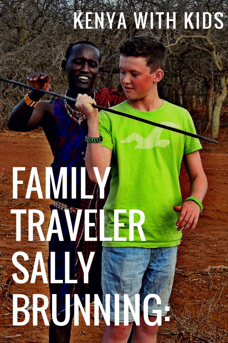 Sally Brunning Is A World Traveler And PartMarketing WorldwideDuo, Which Represents GorgeousAccommodationsIn Six Different African Countries. Sally Gets To Visit Africa Often, And HasTons Of Experience Traveling In Groups And With Her Family. Read On To Have A Peek Into Sally's Life And Hear Some Of Her Incredible Stories! | vacation tips kenya | kenya with kids | family travel africa