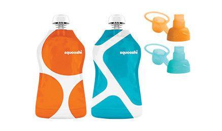 Aussie Bubs - Squooshi Pouch & Sip'n Combo Pack Geometric  Pack - Ziplock Bag (Online)