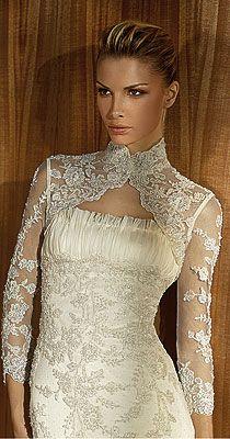 Suknia z koronką San Patric Broche