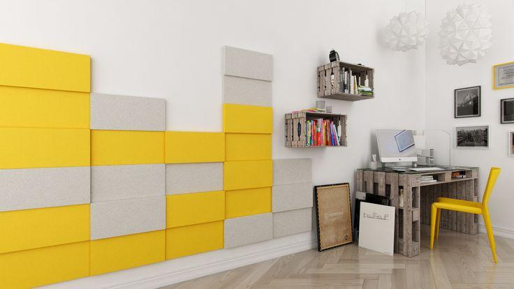 Miękkie panele ścienne 3D Fluffo, Fabryka Miękkich Ścian. Kolekcja Fluffo LINE. www.fluffo.pl