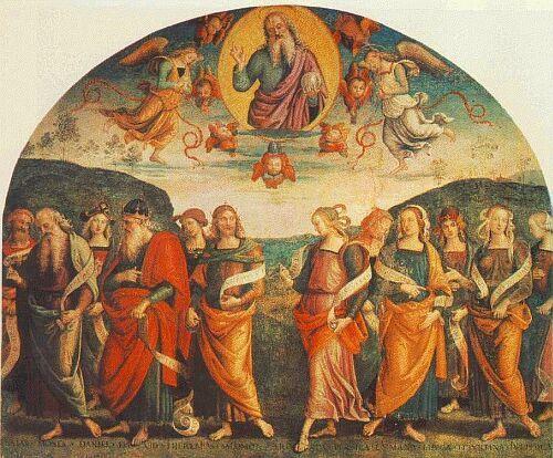 «Добродетели» Перуджино в Collegio del Cambio (Перуджа). НАДЕЖДА.