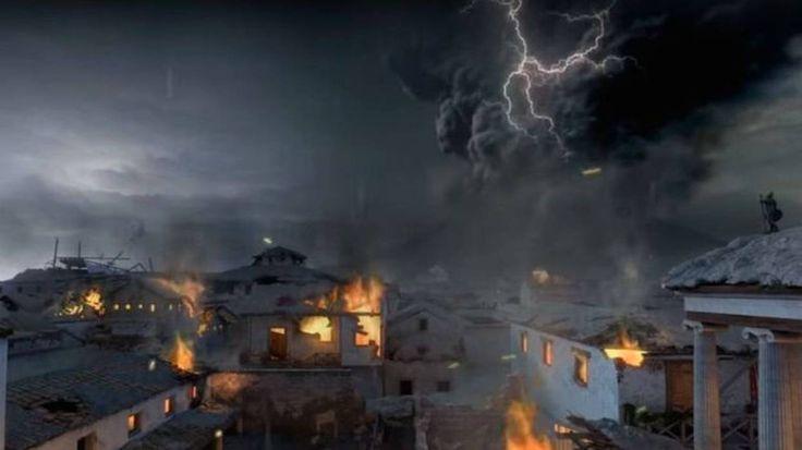 Réaliséepour l'exposition  A Day in Pompeii  au Musée de Melbourne, la vidéo ci-dessous donne un aperçu d'heure en heure de la dévastation de la ville dans la journée suivant l'éruption du mont Vésuve, le 24 août de l'an 79.   Une autre...