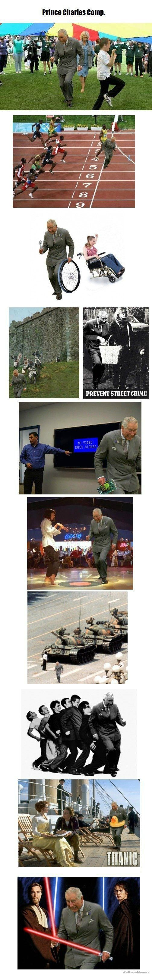 Prince Charles Dancing Meme Comp