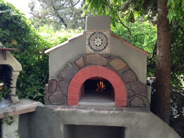 Residential Woodburning Oven Amalfy designed by our Dear Client