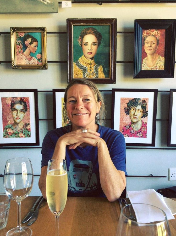 Catherine Marshall of Catherine Marshall wines. Portrait of a winemaker