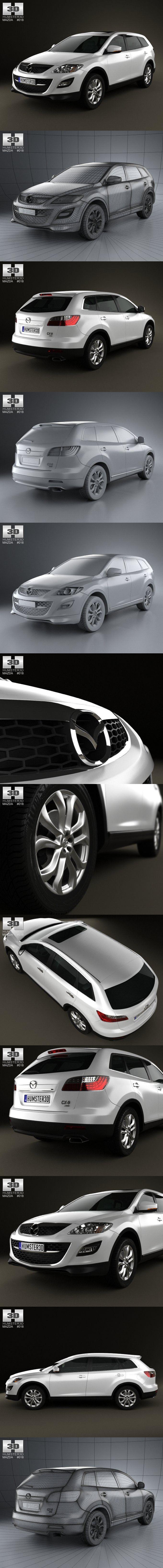 Mazda CX-9 2012. 3D Vehicles