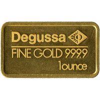 Goldbarren Degussa AG 1 Unze