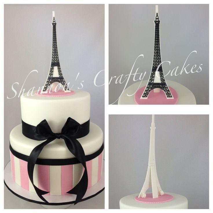 Poodle In Paris Cake Ideas
