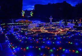 Christmas Lights Spectacular. Hunter Valley Gardens. 7th November 2014 - 26th January 2015