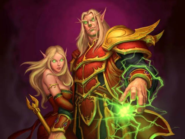 I got: Blood Elf! Which World Of Warcraft Race Are You?