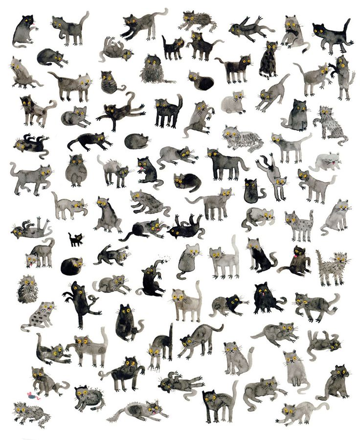That Which We Do Not Understand limited edition faux gold leaf art print: Black Cats by Lorna Scobie. This beautiful artwork is sold out. Inspired by the superstitions surrounding these most enigmatic of creatures.
