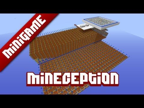 Mineception, a Minecraft mini-game.  If this is Minecraft within Minecraft, how do we know we're not just a game within a larger one?