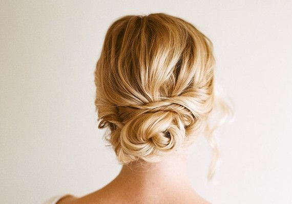 Bridesmaid hair Loose Bun Tutorial from Anne Sage | DIY Projects | 100 Layer Cake