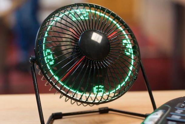 風を送るLED扇風機が卓上にちょこんと | roomie(ルーミー)