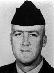 Valor awards for SSgt Peter Spencer Connor (1932-1966) USMC. Medal of Honor (posthumously) for conspicuous gallantry and intrepidity at the risk of his life above and beyond the call of duty on 25 February 1966, in Quang Ngai  Province, Republic of Vietnam. Manifesting extraordinary gallantry and with utter disregard for his personal safety, he chose to hold the grenade against his body in order to absorb the terrific explosion and spare his comrades. Read full citation.