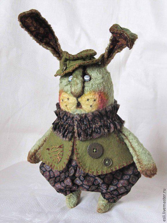 Купить Морковку принесли? - болотный, заяц, кролик, толстый кролик, мишки тедди, друзья тедди