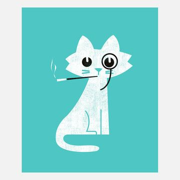 Budi Satria Kwan: Aristocat, at 18% off!: Design Inspiration, Aristocat Canvas, Illustration, Art, Fab, Products, Wraps, Canvases