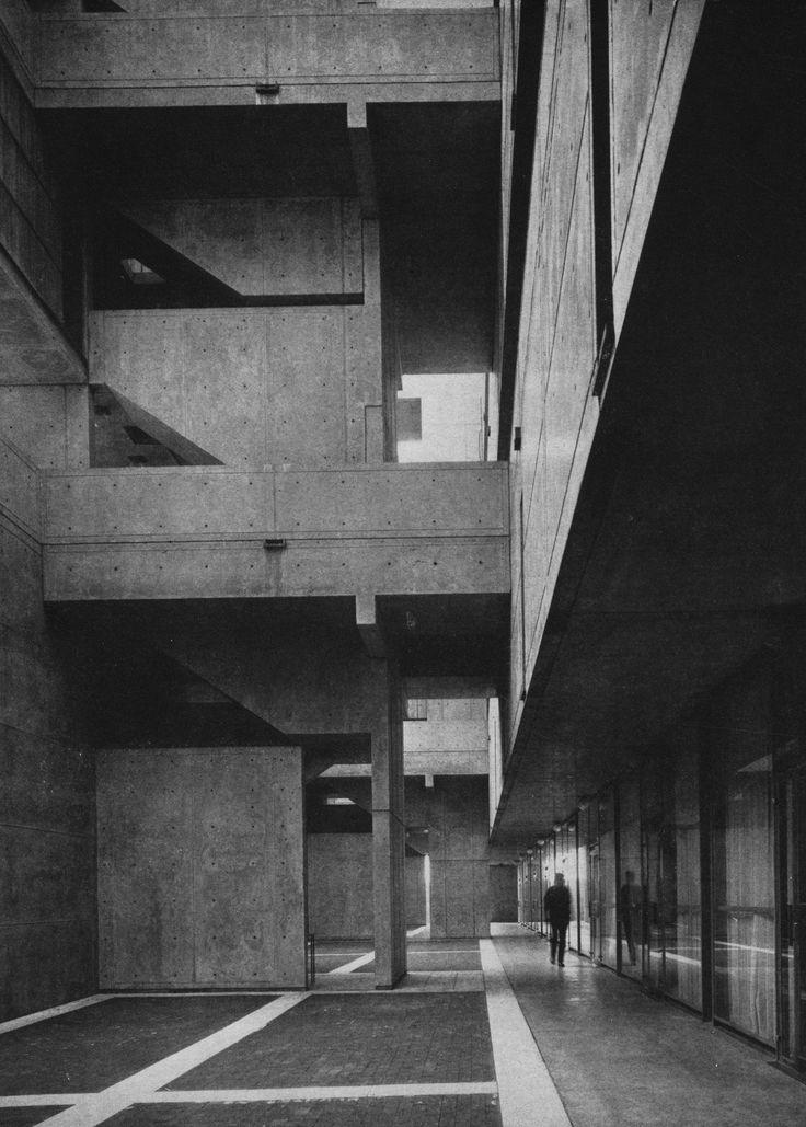 Visions of an Industrial Age: Jonas Salk Institute for Biological Studies, La Jolla, California, 1960s (Louis Kahn)
